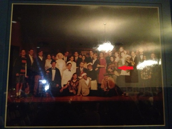 "Senior Year fall play ""The Man who Came to Dinner"" in which I played ""June"" the daughter."